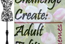 Challenge Create: Adult Edition / Friendly sewing competition!