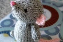 Knitted toys free patterns