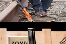 Must have for Zombie Apocalypse / Alles, um eine bevorstehende Zombieapokalypse zu überleben !   Everything to survive the upcoming zombieapocalypse !