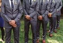 g r o o m . & . h i s . m e n / Suit inspiration for the groom and his men...