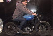 UM 200 MOTO CUSTOM CAFE RACER / En Bogotá, proceso de Cafe Racer en una moto UM 200 FastWind