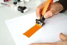 tools for drawing, painting