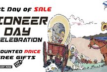 Pioneer Day Celebrations Sale for All / Celebrate Pioneer Day with Sky-Seller, get up-to 50% Discount with exciting gifts and free shipping.