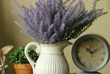 lavanda decorations