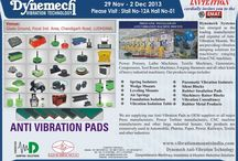EXHIBITIONS/ TRADE SHOWS  / Dynemech frequently exhibits it's entire range of anti vibration solutions to connect face to face with the industry.