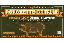 Porchette d'Italia, la Grande Festa della Porchetta 2-3-4 marzo Solbiate (CO)