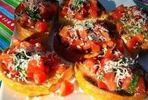 Summer Food- savory / Beachy, hot, sunny yum food / by Melinda Yoder