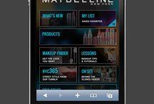 Dunkles Design / App Beispiele mit dunklem Hintergrund