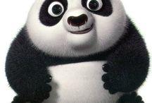 Minis pandas oursons