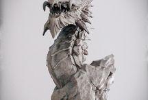 Скульптура, работы