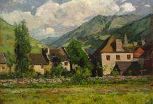 Pirineo / Eliseo Meifrén Roig. Pinturas al óleo del Pirineo.