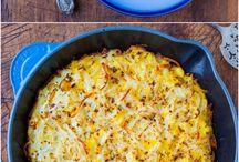 Food Hash brown potatoes