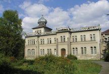 Osiek - Pałac Rudzińskich / Pałac Rudzińskich w Osieku. wybudowany w stylu mauretańskim w XIX wieku. Od 2000 roku w rękach spadkobierców.