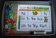 School (sight words, fluency)