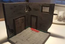 diorama The Walking Dead