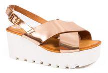 Sandale cu platforma dama