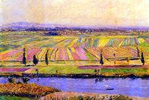 Gustave Caillebotte / Cuadros del artista impresionista francés Gustave Caillebotte