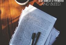 writing and coffee.