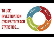 Teaching Statistics Through Data Investigations Landing Page