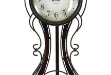 Wall Clocks that are NOT ROUND!!! / When you think wall clock, what do you think of? Most see a simple circular shaped clock that is simply there to tell time. Not so fast! Wall clocks can do sooo much more than that. A piece of cute accent décor. A centerpiece of a room. We've compiled our collection of wall clocks that have one thing in common--they are not round, to show that wall clocks don't just serve as functional pieces, they can be trendy too! We've also included our tabletop clock and thermometer picks.
