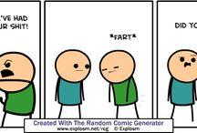 Cyanide and happiness random comic generator