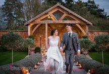 When Copper & Rose Gold Collide : Rustic Autumn Wedding Inspiration / Breathtaking autumnal wedding inspiration of Copper & Rose elements -  from the creative stylists at Blue Fizz Events and the collaboration of other fabulous local wedding suppliers at the beautiful venue of Upton Barn !