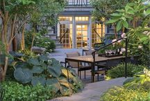 Guy Morgan Williams | Amy Mills / DCA Landscape Architects, Inc. - TOP LANDSCAPE DESIGNER H&D PORTFOLIO - DC/MD/VA - http://www.handd.com/DCALandscapeArchitects - DCA Landscape Architects' designs are site-responsive, tailoring architectural and planting details to the individual needs or program requirements of clients and their properties.