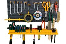 Garage Kit Organizer Wall Tool Panel Mini Rack Home Storage Unit Shelves Hanger