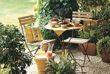 Garden Goodies, Porches, Backyards, Balcony.... / by Kelly