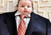 Baby suiting / Suit up! New Instagram trend turns babies into mini businessmen