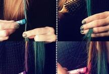 Pastel saç