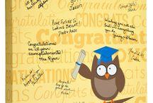 Graduation Owl / Graduation Gift Idea...The perfect keepsake for your favorite graduate! #graduation #graduationparty #graduationgift #graduationowl #owl #yellow decoration #gradparty