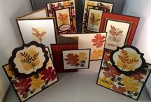 Stampin' Up! My Cards / These are cards that I've made at classes, my own designs and/or by casing a design via another stamper