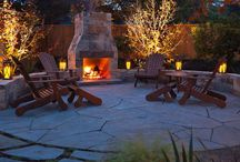 fire and fire pit