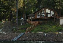 Wallowa Lake Front Homes / Homes on Wallowa Lake with private lake access