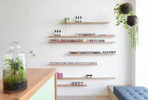 Nail shop design