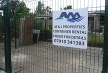 M&J Properties / Container rental in Brandon, Suffolk [10'x8' Container]
