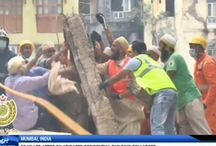 33 killed after dilapidated residential building collapsed