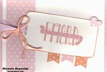 Stampin' Up Banner Blessings