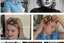 Marilyn Monroe's hair