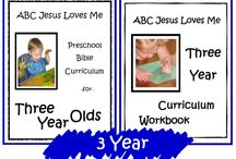 3 Year ABCJLM Curriculum / Ideas to enhance the 3 Year Curriculum at ABCJesusLovesMe.com