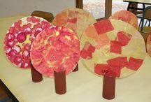 Thème : La forêt et l'automne - Enseignement préscolaire / Les arbres et les animaux de la forêt L'automne