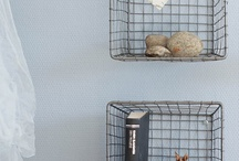 Organizational containers/shelves / by Lacie Lacie