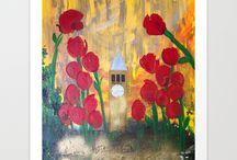 Cornell University Artwork / Artwork for the CU Cornell University Ithaca NY alumni!
