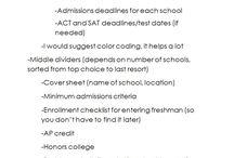 Organization: High School Binder