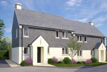 Offshore, Stoke Fleming, Devon /  With a total of 24 stunning properties, Offshore offers a mix of 3 and 4 bedroom homes, each with designated parking. Designed in coastal chic styles, the homes enjoy a mix of finishes in keeping with the village.