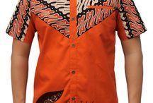 Baju batik cowok