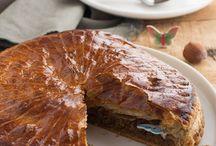 Galette des rois / Découvrez des recettes de galettes des rois frangipane, pommes ou autre.