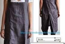 Skirts and aprons / Ideas and variations of skirts and aprons. Inspirational