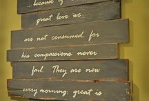 Pallet Wall Hangings
